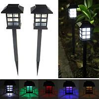 2шт сад солнечной восточный LED лампы открытый двор газон декоративный свет