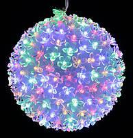 Гирлянда фигура внутренняя LED 200 ламп шар разноцветная