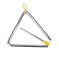 Baby дети детей 6-дюймовый треугольник ритм-группа игрушечный музыкальный инструмент воспитательное средство