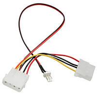 CPU Fan 4pins патч-корд к 3/4 штифтами адаптер питания кабель провод провода