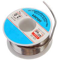 Диаметр 2мм 100г олова канифоль основные сольдер пайки провода кабельный барабан