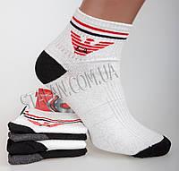 Оптом купить мужские короткие носки 5-2. В упаковке 12 пар, фото 1