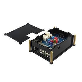 Pifi Hifi ЦАП + цифровой аудио Pinboard карта с случае для Raspberry Pi 2 модели б/B +/A + 1TopShop