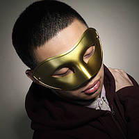 Мужские бал-маскарад маска маски наполовину маска Венецианский стиль партии маски