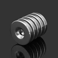 5шт N35 сильные магниты диска 25 мм неодимовые х 5 мм круглые NdFeB магниты с отверстием 6 мм