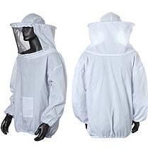 Пчеловодство куртка вуаль халате поставки оборудования пчеловодство шляпу рукавом костюм, фото 3