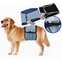 Кобель щенок живота Wrap диапазона приучения к туалету пеленки санитарные брюки нижнее белье