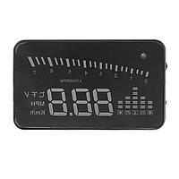 12v 3 дюйма x5 красочные obd2 HD HUD 3-дюймовый экран 9В, чтобы 16vprompter монитора автомобиля детектор PC Alarm