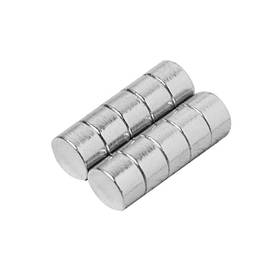 10шт d8x5mm n35 неодимовым магнитов редкой земли сильный магнит
