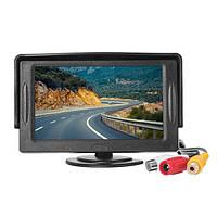 4.3 дюйма tft жидкокристаллический HD цифровой цветной экран монитора для автомобильного вида сзади изменение камеры
