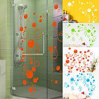 42x21см пузыри стикер стены ванной комнаты окно ливня плитка художественное оформление