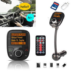 Bluetooth Авто Авто Hands Free FM Transimittervs Модулятор TF MP3-плеер USB-зарядное устройство