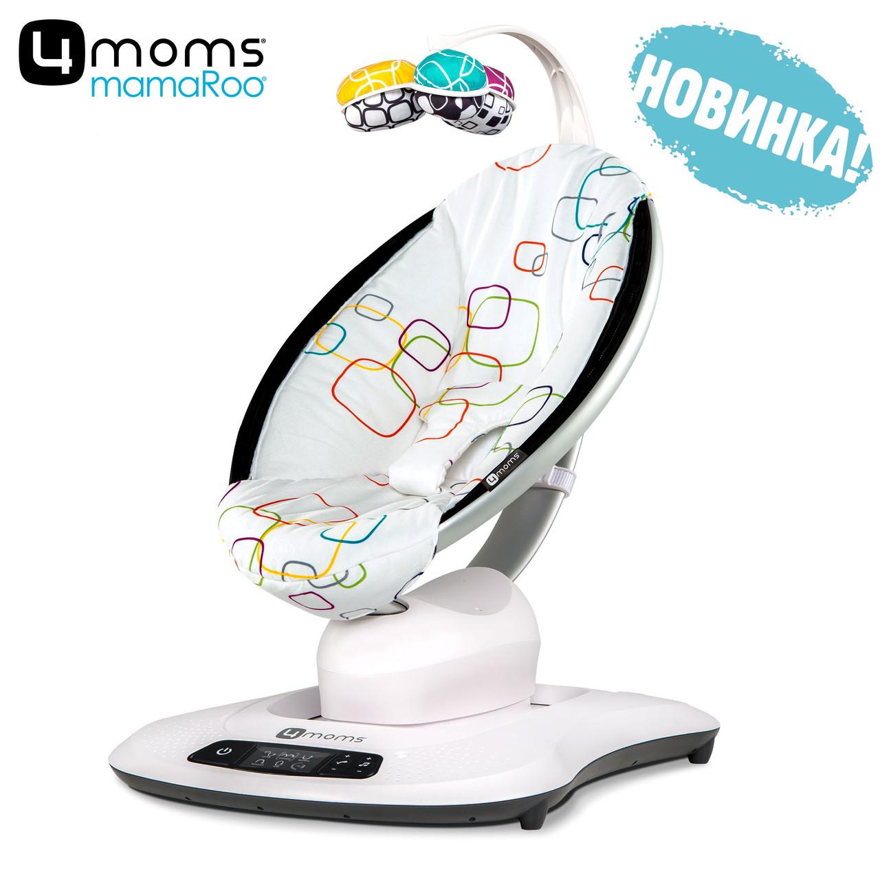Крісло-гойдалка 4moms MamaRoo 4.0