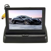 4.3 дюймов LCD Монитор Беспроводная связь IR Ночной вид сзади сзади Обратный камера комплект