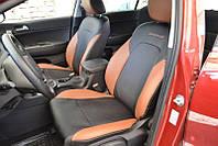 Авточехлы из экокожи Fiat Grande Punto 2005-> Sport Союз-авто