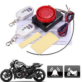 12V мотоцикл Детектор вибрации для велосипедов Анти Система охранной сигнализации и 2 Дистанционное Управление