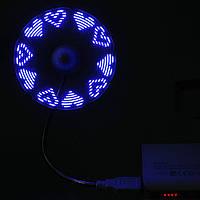 USB LED сообщение вентилятора ноутбук стол ПК гаджет автомобиля гибкий гусь-образным вырезом случайным образом