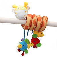 Новорожденных малышей кровать вокруг образовательных вручать игрушки симпатичное животное жираф мягкая игрушка