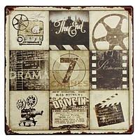 Фильм функция олова, войдите старинные металлические бляшки декор плакат паб в стены дома