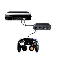 GameCube контроллер адаптер конвертер для Wii U и супер смэш брос нормального качества