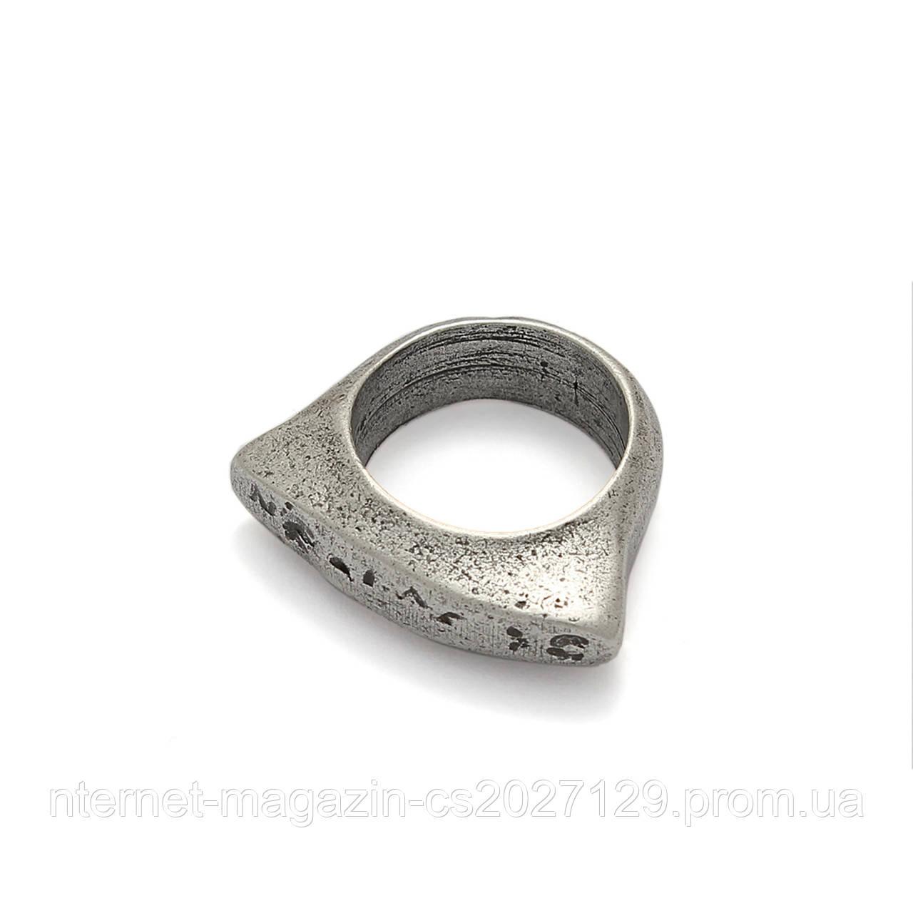 Кольцо цельнолитое Тео 17 размер (бохо стиль)