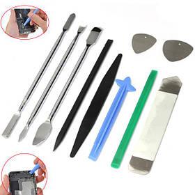 10 in 1 Открытие Pry Repair Disassemble Набор Набор Набор для сотового телефона планшета 1TopShop