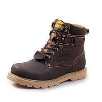 Желтый Темно-русый Темно-коричневый-Для мужчин-Для прогулок-Полиуретан-На толстом каблуке-Удобная обувь-Спортивная обувь 05630121