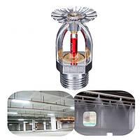 1/2 дюймов 68 ℃ Головка пожарного спринклера для защиты системы пожаротушения