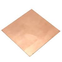 100мм * 100мм * 1мм чистой меди Cu металлический сейф с помощью гильотины разреза листовое