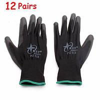 12pairs Xingyu pu518 13gauge нейлоновые нитрила антистатический Palm оболочке безопасности труда перчатки большого размера