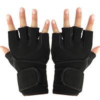 Профессиональное обучение фитнес-тренировки спортивные наручные Wrap гиревой спорт тренажерный зал перчатки
