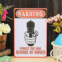 Предупреждение листового металла рисунок покраска металлов олова магазин паб стены таверны плакат знак