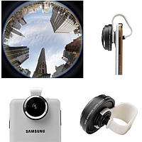 Универсальный 235 Съемный зажим Fisheye Объектив камера Для iPhone 6 6 Plus Все телефоны