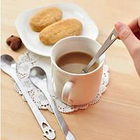 Сталь улыбка лицо ложка чайная ложка кофе кухонная утварь