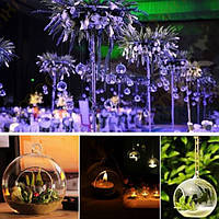 Подвесной стеклянный подсвечник Crystal Candle Палка Candelabrum Micro Landscape Bottle
