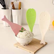 Пластик стоящая рыба рис совок ковш весло антипригарной инструмент кухни, фото 3