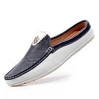 Для мужчин Мокасины и Свитер Удобная обувь Мокасины Свиная кожа Весна Лето Повседневные Для прогулок Удобная обувь МокасиныНа плоской 05151560