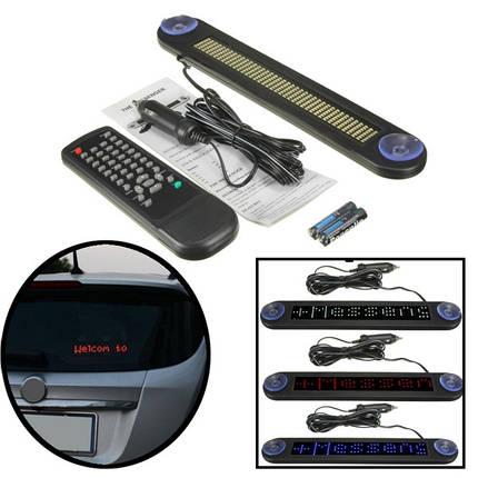 LED Дисплей программируемый электронный перемещение прокрутка сообщение,войдите дистанционного управления 12v, фото 2