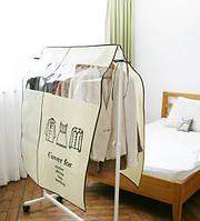 Анти пыль водонепроницаемый рубашки одежды шкаф крышка нетканый материал сумка для хранения