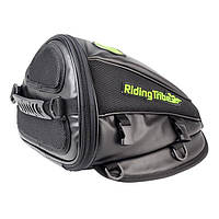 Бак мотоцикла мешок шлем инструмент путешествия хвост багажа водонепроницаемый мульти езда племя