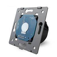 Livolo стандарт EU основания сенсорный экран настенный выключатель света осветительная Лампа VL-c701-11 1 банды 1 способ