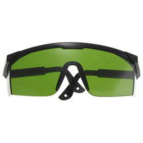 Анти-лазер 532нм Тонированные защитные очки с УФ-защитой для глаз лазерные очки зеленый 1TopShop