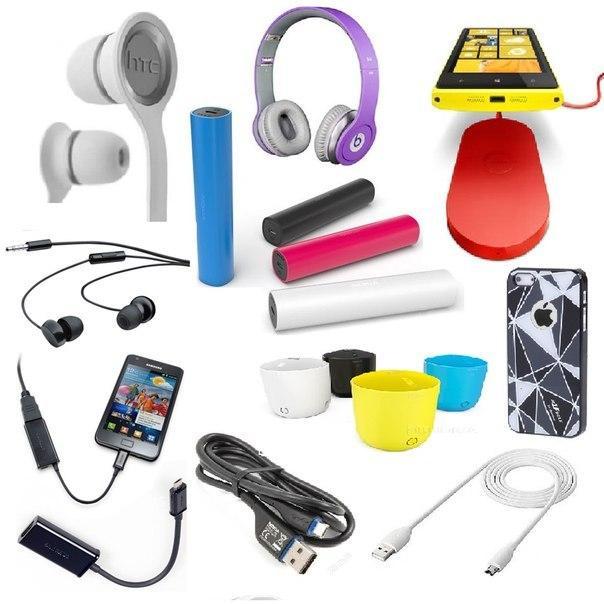 Аксессуары мобильных телефонов, чехлы, гаджеты, игрушки