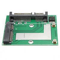 III 6Gbps адаптер конвертера карты модуля платыSATA SSD до 2.5 дюйма SATA мини-PCI-E м
