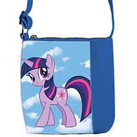 Синня детская сумочка для девочки с принтом My Little Pony