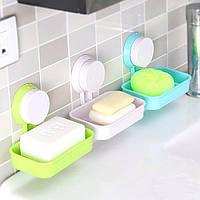 Конфеты цвет ванны мыла туалетного мыла держатель хранение лоток коробка с присоской .