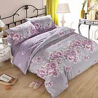 3 или 4шт фиолетовые розы реактивная печать полиэфирного волокна постельных принадлежностей