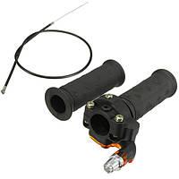 Твист ускоритель дроссельной ручки и кабеля для ATV Quad грунтовой ямы велосипеде 90/110 / 125cc