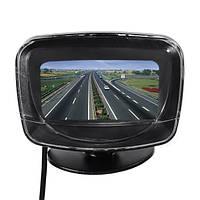 12v 6 датчиков обратной радар LED дисплей автомобиля обратный Резервное копирование системы радар индикатор зуммер