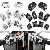 Кнопки управления мотоцикла рука переключатель корпус Крышка для Harley Электра скольжения